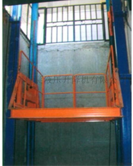 济南伟晨供应sjg液压升降货梯1-6层楼载重1-20吨固定式升降台图片