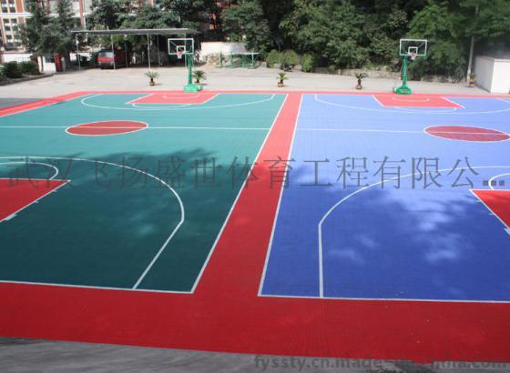 武汉专业户外篮球悬浮场地 室外羽毛球篮球五人制足球幼儿园悬浮式拼装 塑胶运动场地地板 室外悬浮拼装地板图片,武汉专业户外篮球悬浮场地 室外羽毛球篮球五人制足球幼儿园悬浮式拼装