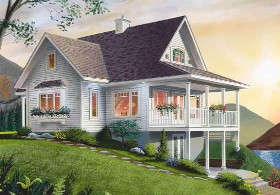 园林木别墅图片,园林木别墅高清图片-青岛美润木屋