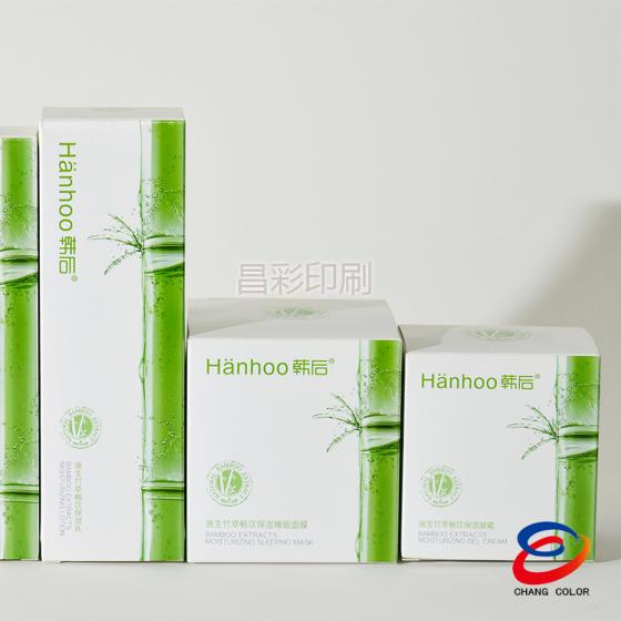 广州工厂直销 包装盒厂家 化妆品定做纸盒创意压纹理包装盒图片