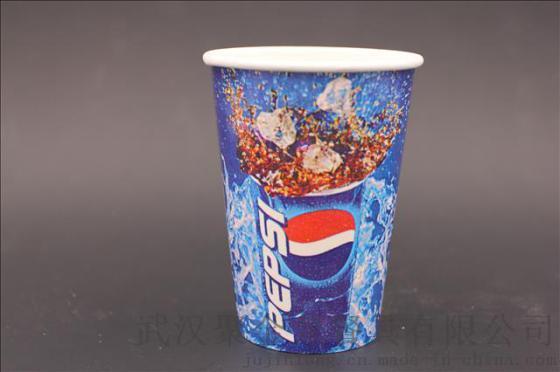 一次性纸杯 12a22a 满版可乐杯 双p 超大可乐杯 厂家直销 电影院图片