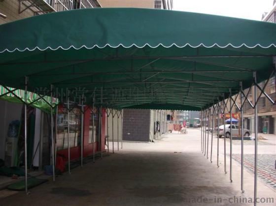 推拉雨篷/推拉雨棚/常佳遮阳厂家定制推拉蓬