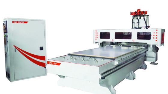 济南雕刻机厂家板式家具开料中心Q2-Z9