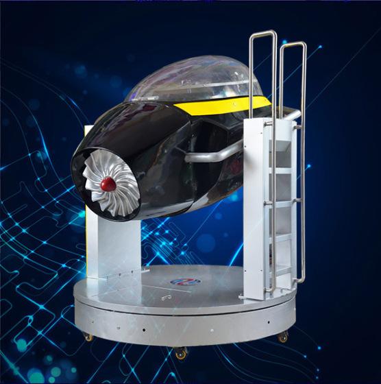 思泓空军一号飞机模拟器 动感技术全方位运动 提供飞行模拟器定制