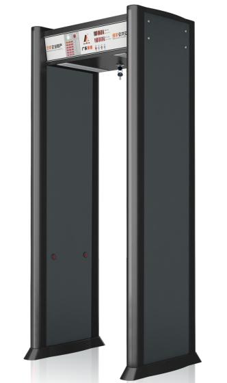 AD-2280普通型数码金属探测门,安检门