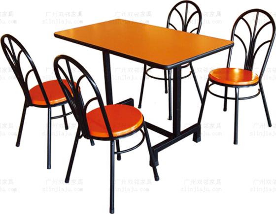 广州定制饭店食堂餐桌椅 ,快餐店餐桌椅组合 ,玻璃钢桌椅批发