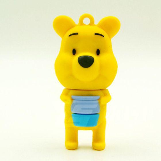 可爱 广告礼品定制 立体小熊u盘高清大图尽在中国