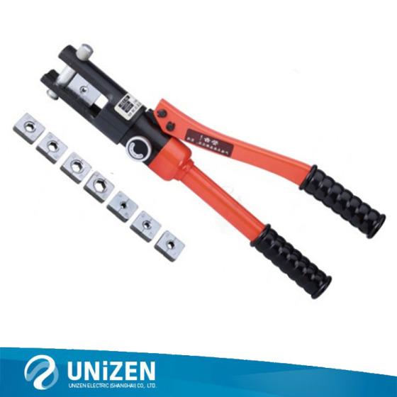 快速液压钳 hp-120架空电缆端子压接钳 手动液压工具图片