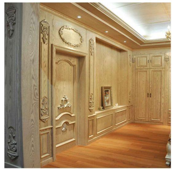 原木护墙板专业室内墙面装饰板
