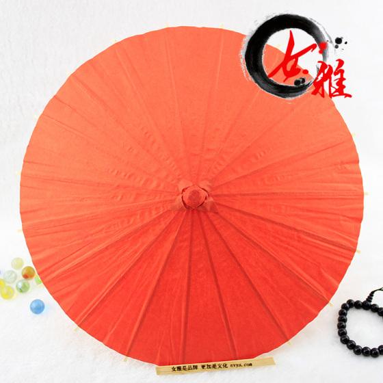 纸伞厂家 儿童diy空白纸伞手工制作美术绘画伞吊饰工艺伞量大从优