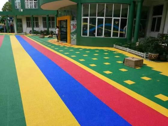 幼儿园悬浮地板 组合攀爬梯 攀爬架 山东艺贝专业幼儿图片
