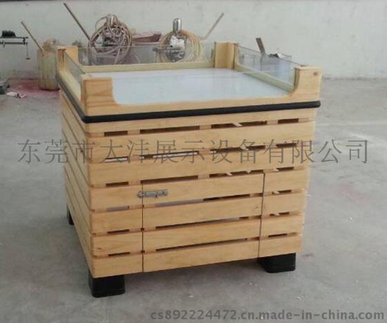大沣货架 DF 147专卖店货架展柜水果木货架展示设备进口商品食品图片