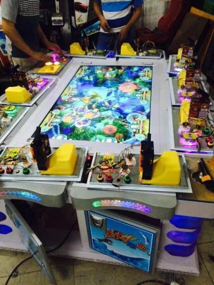 10人虎鹤双行捕鱼机 游戏机 大型捕鱼游戏机 打鱼机