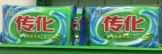 传化208G椰油清香植物皂
