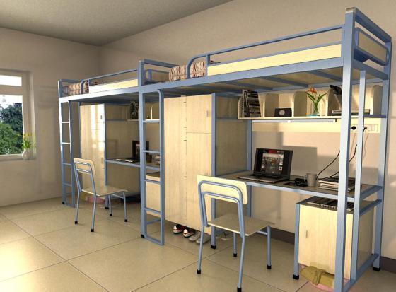 厂家直销 批发 重庆 广州 工厂员工双层床 大学生宿舍豪华宿舍床图片
