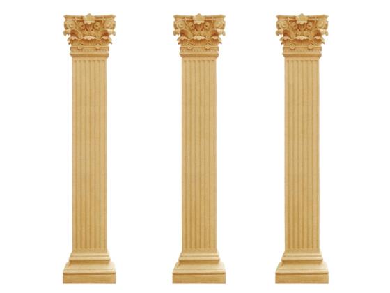欧式建筑装饰柱 罗马柱方柱图片
