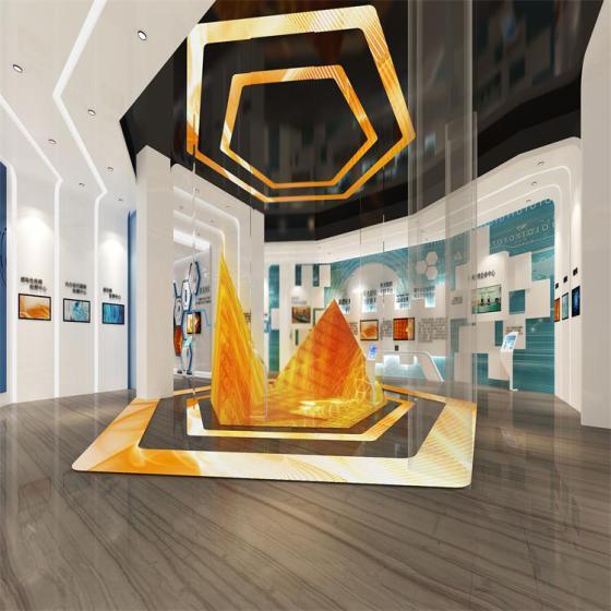 实木展厅设计 展览展具制作厂家 展厅装饰 服装展示设计公司图片