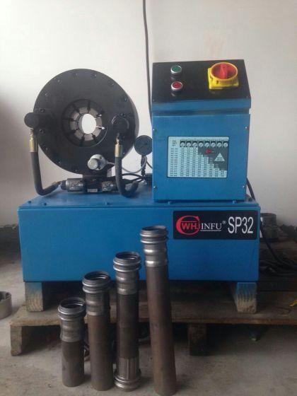 厂家供应钦州压管机 液压油管压管机 油管接头啤喉机图片