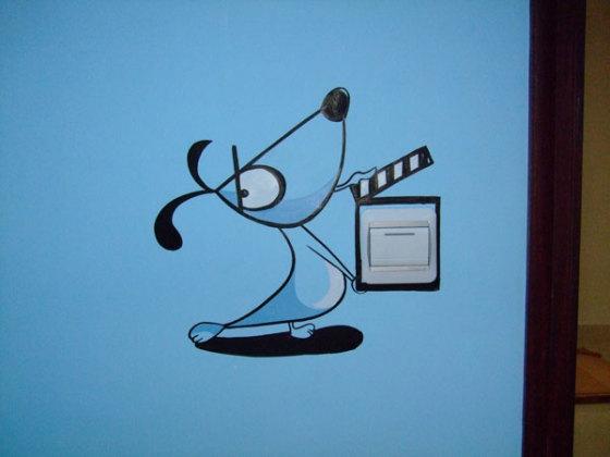 手绘墙图片,手绘墙高清图片-徐州品凡艺术创作有限