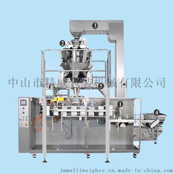 全自动水平式称量包装机 ,果冻包装机 ,糖果组合秤