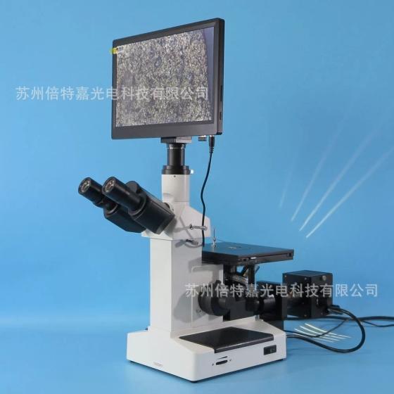金属结构分析显微镜 光学显微镜供应商图片,XJL 17AT 860HD型一