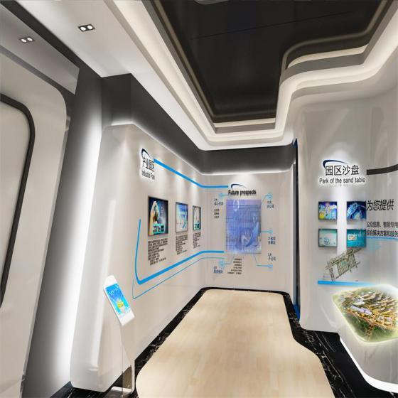 东莞展厅设计装潢公司 汽车主题展厅 电子科技展览展示 会所装修