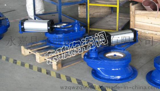 永嘉东玻 zkj-10/xzf-10陶瓷旋转阀/陶瓷摆动阀/仓泵进料阀 变径图片