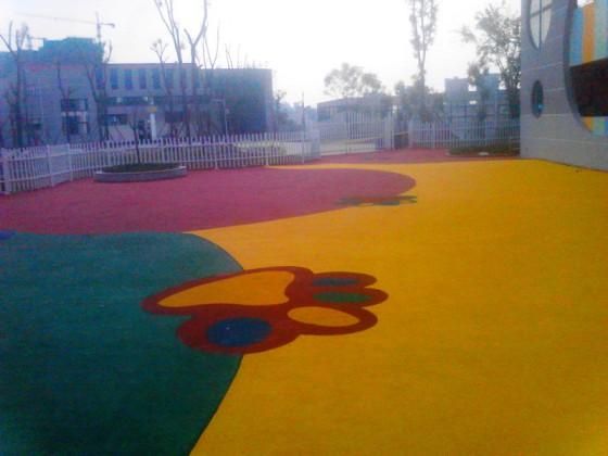 成都幼儿园塑胶跑道 幼儿塑胶操场