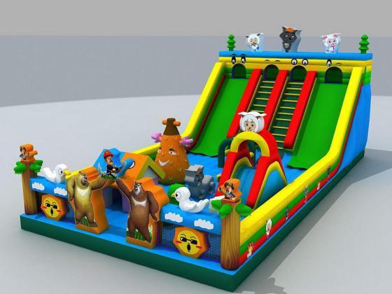 2015年新款儿童乐园 大型充气城堡