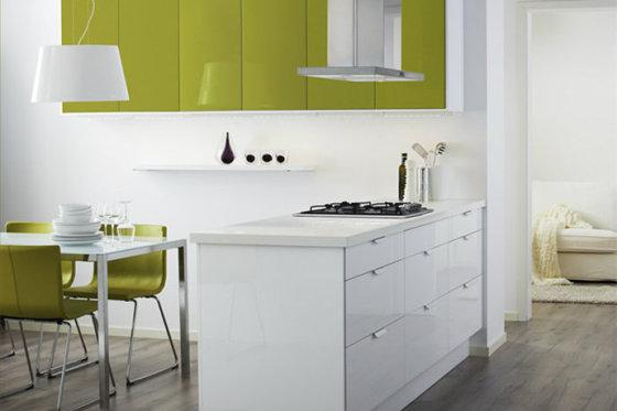 江门开平装修设计简约欧式风格厨房装修效果图图片,江门开平装修设