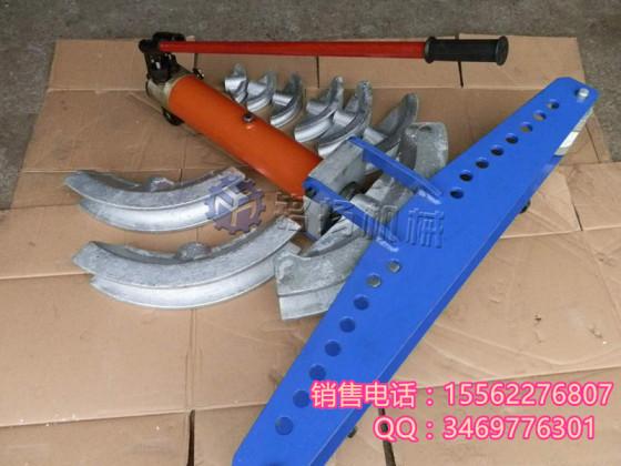 swg-4d手动液压弯管机 使用方法