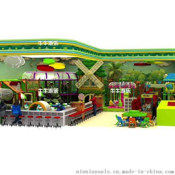 牛游乐 淘气堡儿童乐园室内游乐场设备室内大型亲子游乐园组合淘气