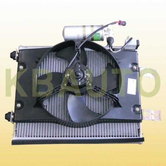 汽車空調系統電路冷凝器風扇控制