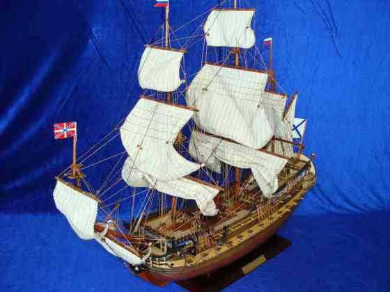 曼兰德 号 仿古帆船模型图片,彼得大帝 英格尔曼兰德 号 仿古帆船模图片