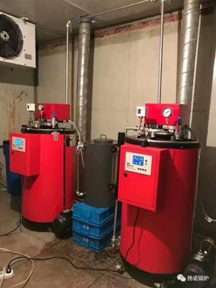 100kg燃油蒸汽锅炉 煮豆浆用燃油蒸汽发生器 豆制品加工机械配套小