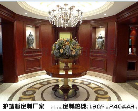 北京挂墙板厂家/中式护墙板图片