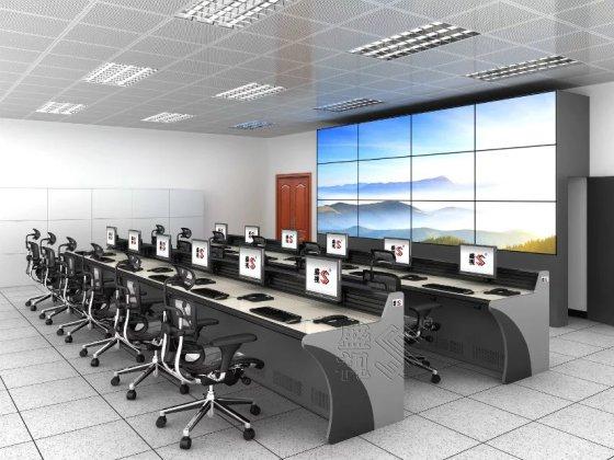 广州市视频调度监控中心控制台高速公路指挥中心监控台播放台指挥html插件操控铁路图片