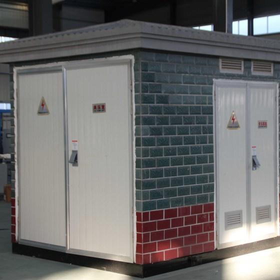 欧式箱变 zbw系列箱式变压器 箱变 组合式变电站 户外图片