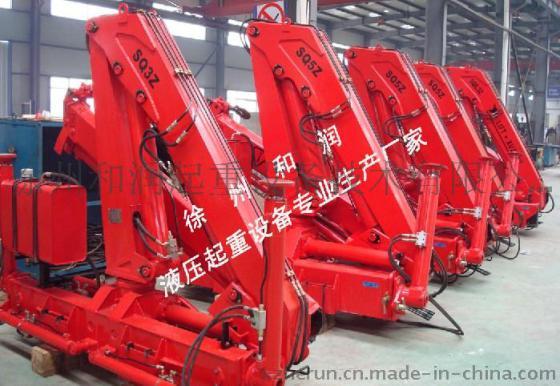 制造加工机械 起重设备 起重机械 液压起重设备/折臂式随车起重机图片