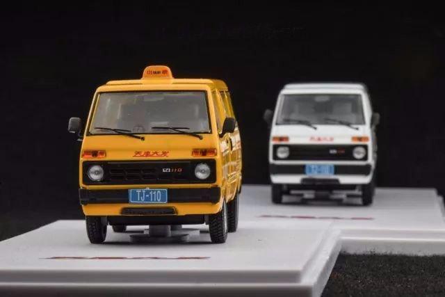 1:43 天津面包车汽车模型