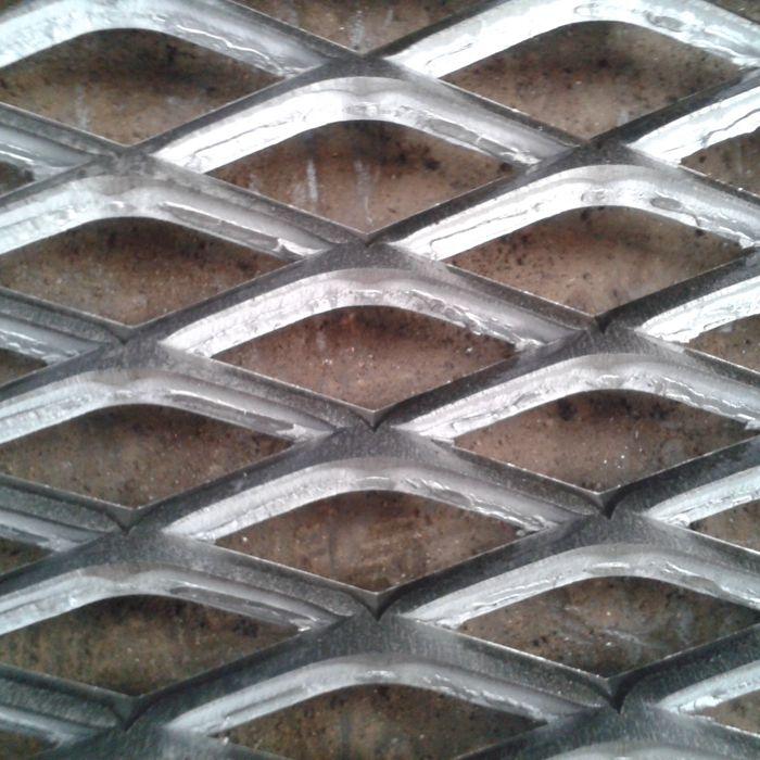 中重型钢板网 建筑钢板网 菱形扩张网 拉