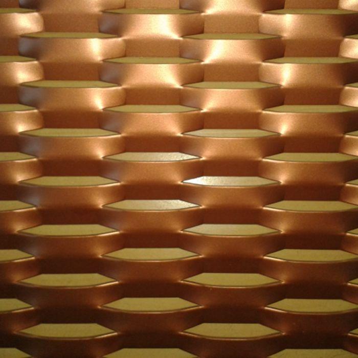 工程吊顶铝板网 拉伸铝板网 工程幕墙铝板