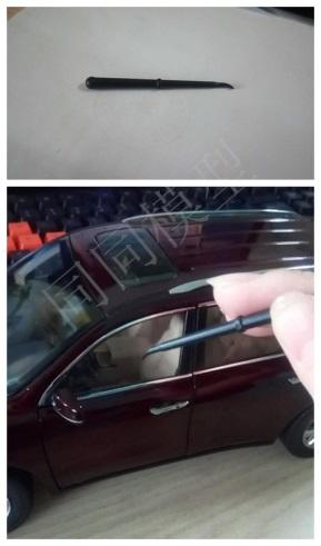 开车门保护车模的窍门