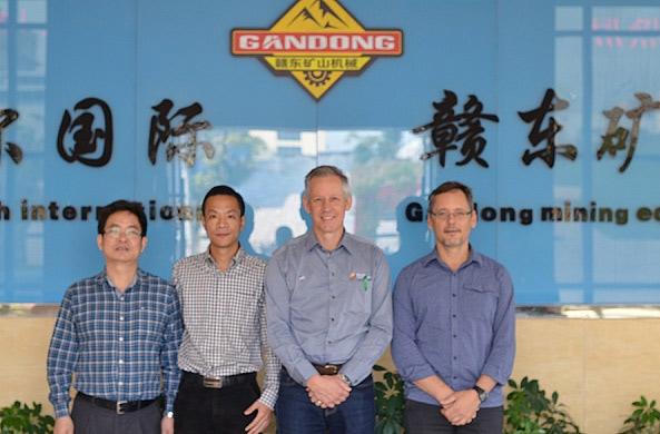 澳大利亚唐纳集团公司高管来访