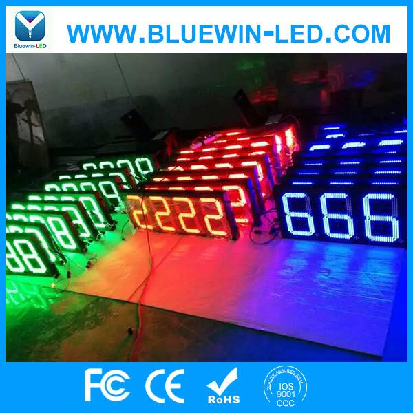 蓝应翔单色8.888油价格显示屏 LED