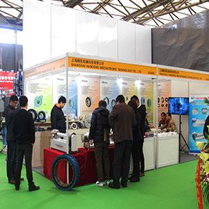 上海韩东参加2016年上海橡胶展(12月