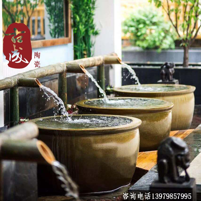 温泉洗浴会所陶瓷泡澡缸