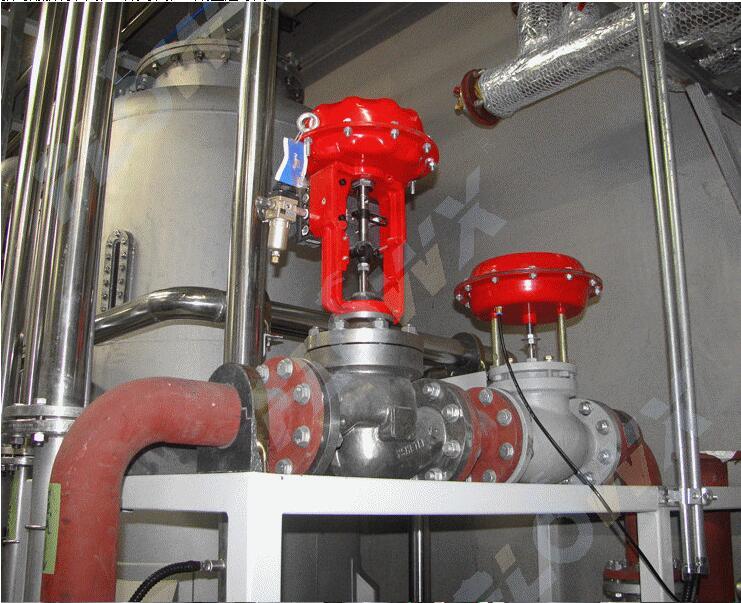 薄膜调节阀,气动卫生级球阀应用于天津养乐