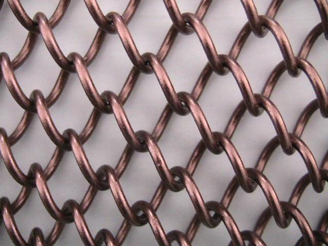 金属网帘_金属装饰网