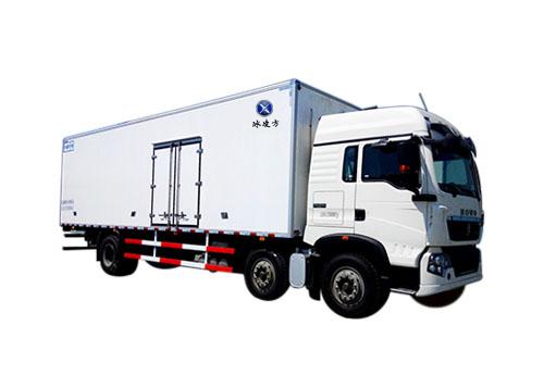 重磅加推:9.6米国五重汽豪沃冷藏车